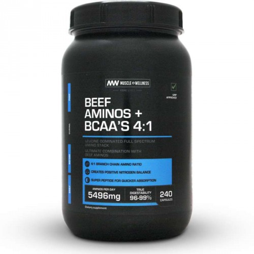Muscle Wellness Beef Aminos