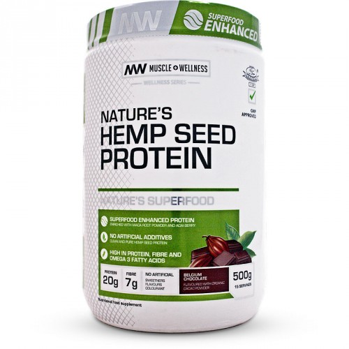 Muscle Wellness Hemp Seed Protein