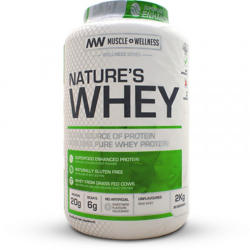 Muscle Wellness Nature's Whey (2kg)
