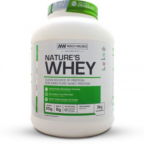 Muscle Wellness Nature's Whey (3kg)