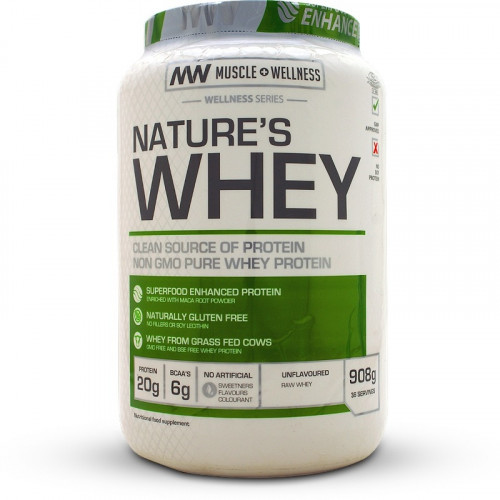 Muscle Wellness Nature's Whey (908 grams)