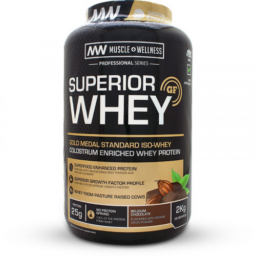 Muscle Wellness Superior Whey (2kg)
