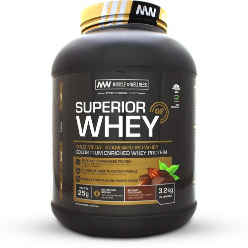 Muscle Wellness Superior Whey (3.2kg)