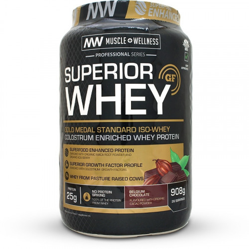 Muscle Wellness Superior Whey (908 grams)