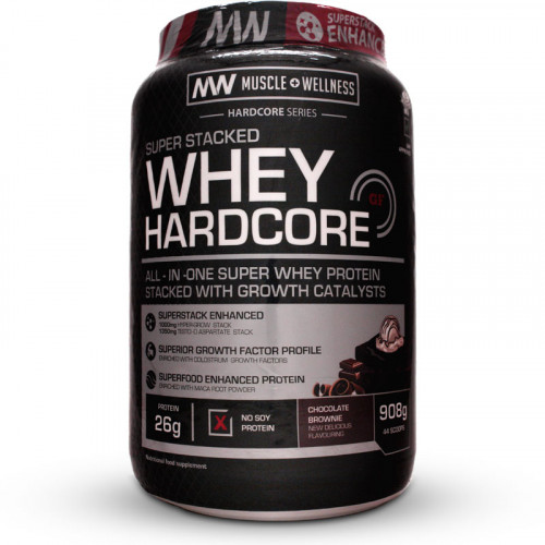 Muscle Wellness Whey Hardcore (908 grams)