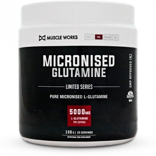 Muscle Works Micronised Glutamine