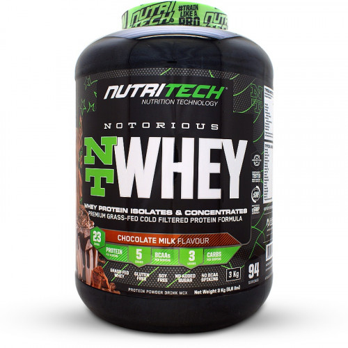 Nutritech Notorious NT Whey (3kg)