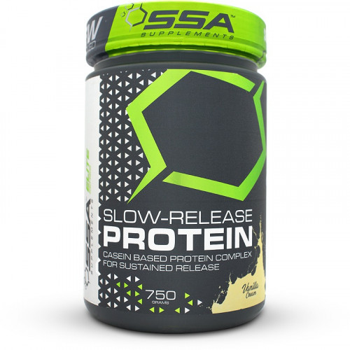 SSA Supplements Slow Release Protein