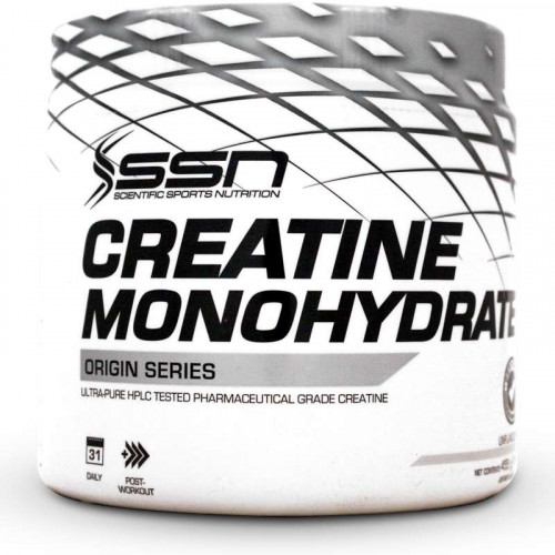SSN Creatine Monohydrate (455 grams - Unflavoured)
