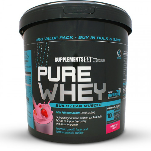 Supplements SA Pure Whey Protein (3kg)