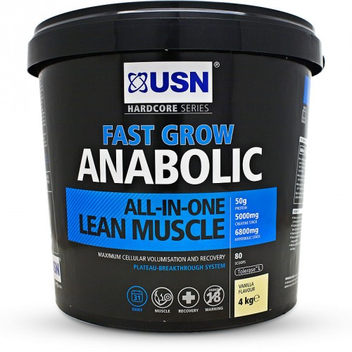 Lean muscle growth protein powder