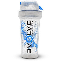 Evolve Nutrition Clear Shaker