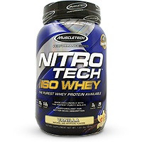 MuscleTech Nitro Tech 100% Iso Whey
