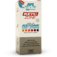 NPL Ketone Zone Test Strips
