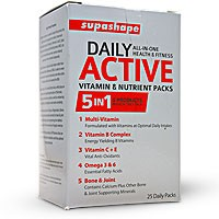 SupaShape Daily Active Nutrient Packs